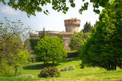Medicean Fortress in Volterra Royalty Free Stock Image