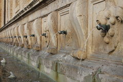 Medicean Fountains in Assisi Royalty Free Stock Image