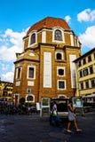Medici教堂在佛罗伦萨 库存图片