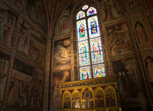Medici Chapel in Basilica of Santa Croce, Florence Stock Images