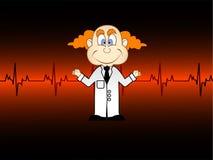 Medici con i battimenti di cuore Immagine Stock Libera da Diritti