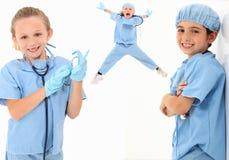 Medici del bambino Immagine Stock Libera da Diritti