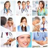 Medici e pazienti Fotografia Stock