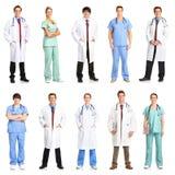 Medici ed infermiere Immagini Stock
