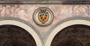 Medici-Emblem - Florenz Lizenzfreie Stockfotografie