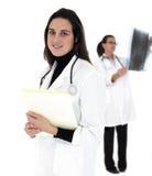 Medici femminili fotografia stock libera da diritti