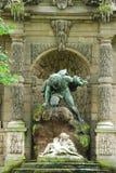 Medici Fontana-Lussemburgo fa il giardinaggio Fotografie Stock