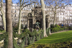 The Medici fountain in the Jardin du Luxembourg. Royalty Free Stock Images