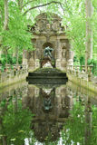 Medici Fountain-Luxembourg Garden Royalty Free Stock Photos