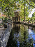 The Medici Fountain in Luxembourg Gardens on a sunny day Stock Photography
