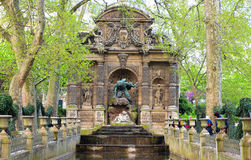 The Medici Fountain. A prominent feature in the Luxembourg Gardens, Paris France Stock Photo
