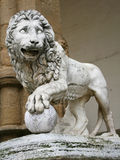 Medici Lion by Flaminio Vacca Stock Photo