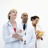 Medici maschii e femminili. Immagine Stock Libera da Diritti