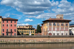 Medici Palace in Pisa, Italy Royalty Free Stock Images