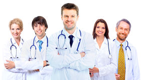Medici sorridenti Fotografie Stock