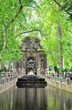 Medici springbrunn i den Luxembourg trädgården, Paris royaltyfria foton