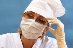 Medici tristi Fotografia Stock