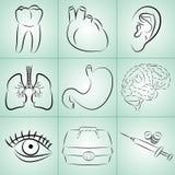 Medicin Arkivbild
