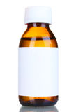 medicin för flytande för flaskexponeringsglas Arkivfoton