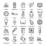 medicin för hygien för omsorgsögonsjukvård stock illustrationer