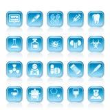 medicin för sjukvårdsjukhussymboler Arkivbild