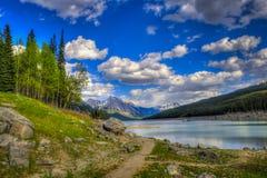 Medicin Lake royaltyfria foton