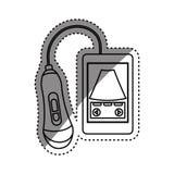 Medicin och teknologi stock illustrationer
