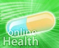 medicin online Royaltyfri Fotografi