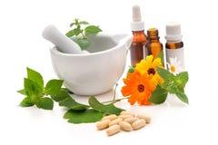Medicina alternativa Immagine Stock
