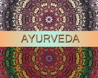 Medicina alternativa di progettazione di Ayurvedic Fotografia Stock Libera da Diritti