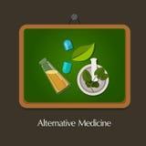 Medicina alternativa naturale tradizionale Fotografie Stock