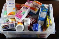 Medicina assortita Immagini Stock Libere da Diritti