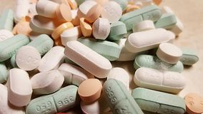 medicina assortita di prescrizione delle pillole Immagini Stock