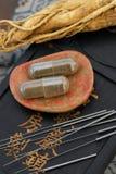 Medicina china Imágenes de archivo libres de regalías
