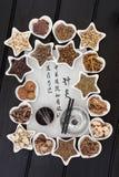 Medicina china de la acupuntura Foto de archivo libre de regalías