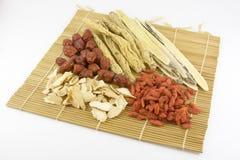 Medicina china tradicional Foto de archivo libre de regalías