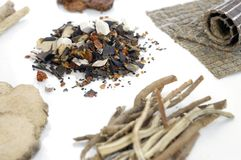 Medicina chinesa tradicional 1 Foto de Stock Royalty Free