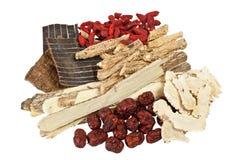 Medicina chinesa tradicional Foto de Stock