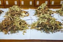 Medicina cinese tradizionale Immagini Stock