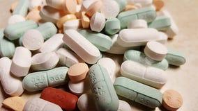 medicina clasificada de la prescripción de las píldoras fotografía de archivo libre de regalías