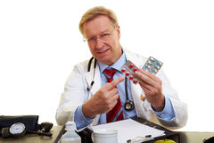 Medicina contro alta anima Immagini Stock Libere da Diritti
