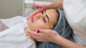 Medicina cosmética, massagem video estoque