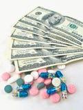 Medicina costosa Fotos de archivo libres de regalías