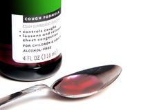 Medicina da tosse Foto de Stock Royalty Free