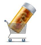 Medicina de compra Foto de archivo