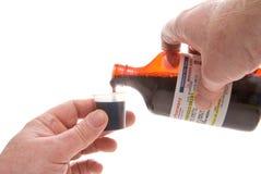 Medicina de derramamento da prescrição imagens de stock royalty free
