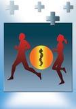 medicina de esportes Ilustração Royalty Free