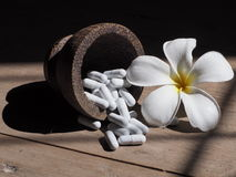 Medicina de la flor Fotografía de archivo libre de regalías