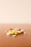 Medicina de las píldoras de Coulourfull Fotografía de archivo