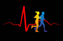 Medicina del corazón Foto de archivo libre de regalías
